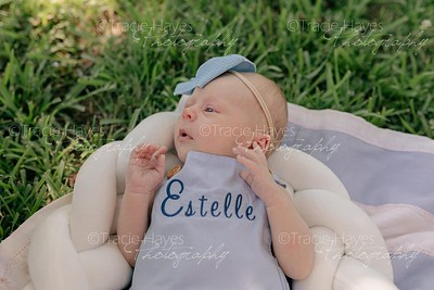 Estelle two months old