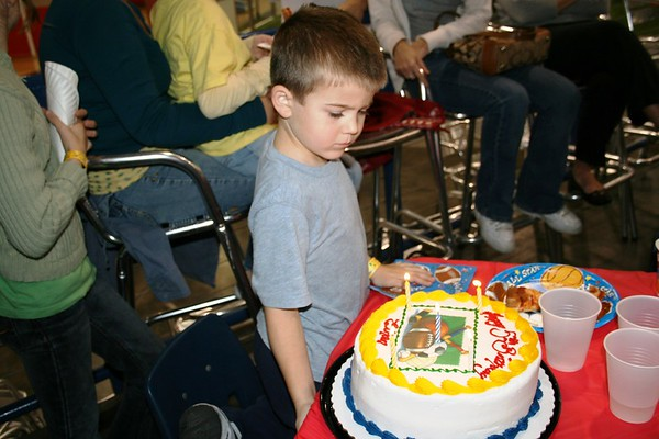 Ethan 5th Birthday