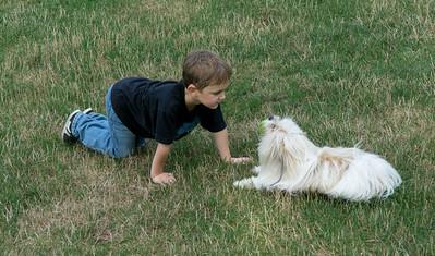 """""""OK Biggie. Give me that ball!"""""""