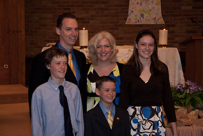 Ethan Green First Communion