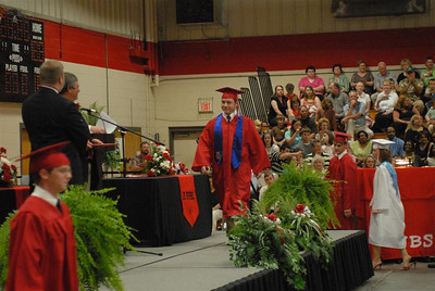 Ethan going for his diploma.