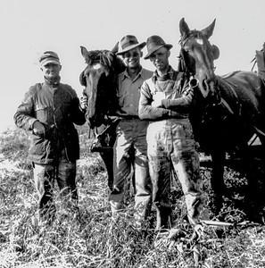 Eugene& two men & horses