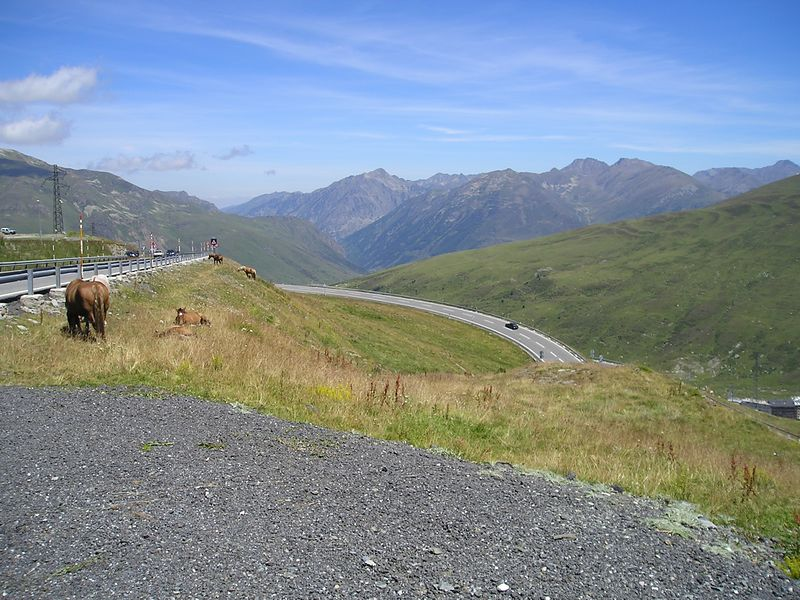 Andorra,top of the world, race track twisties.