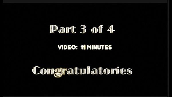 Part 3 of 4 ~~ 50th Anniversary Celebration - Congratulatories