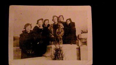 Olga Wolf, Bernice Stave, ???, Almira, Dena, Matha??