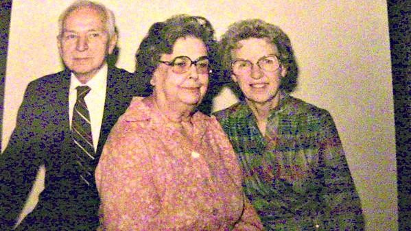 Bill & Almira with Bernice Stave