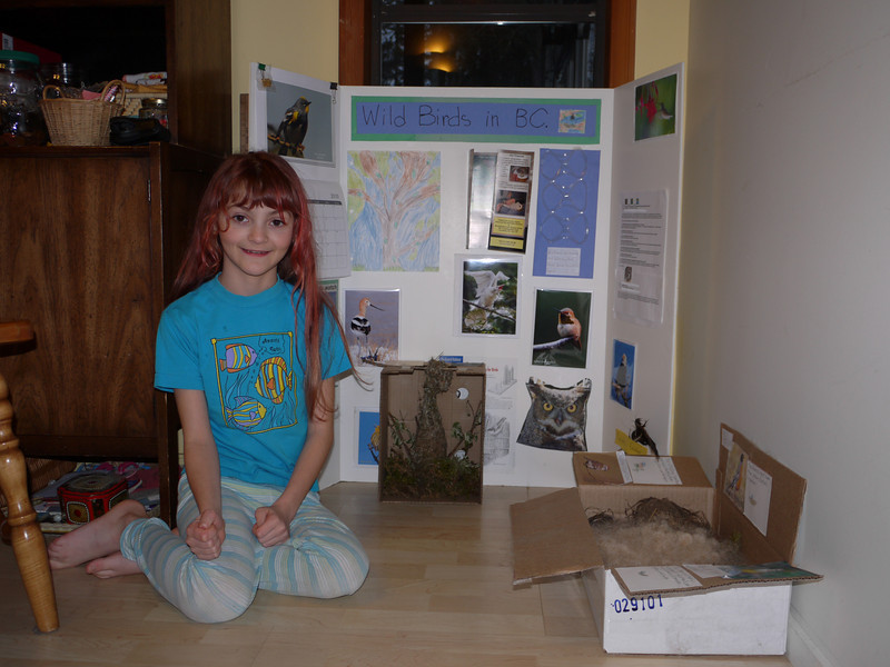 Eva's big project on wild birds in BC.