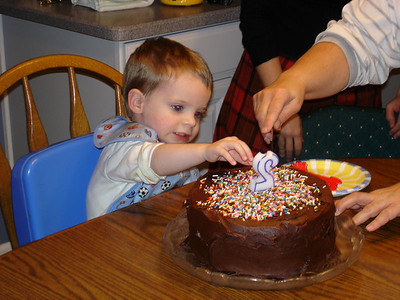 Evan liked the sprinkles the best.