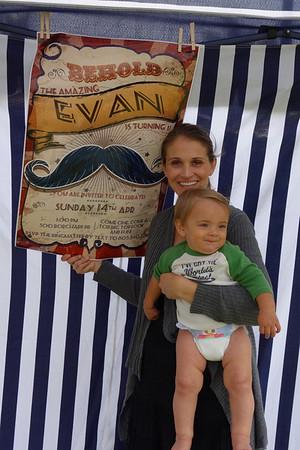 Evan's 1st Birthday, April 2013