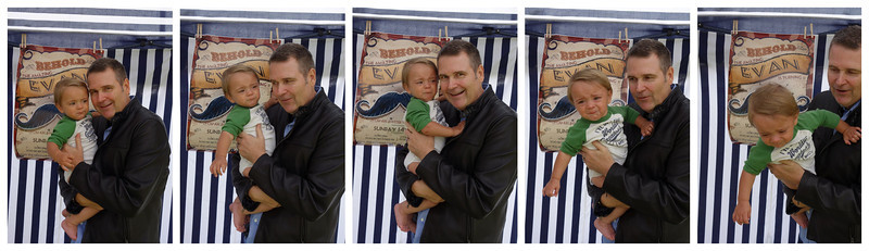 Uncle Ray action sequence, or, how to make Baby Evan cry in 60 seconds or less