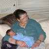 Baby Evan and Grandma Boppie