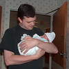 Andy - Uncle Andy holding baby Evan