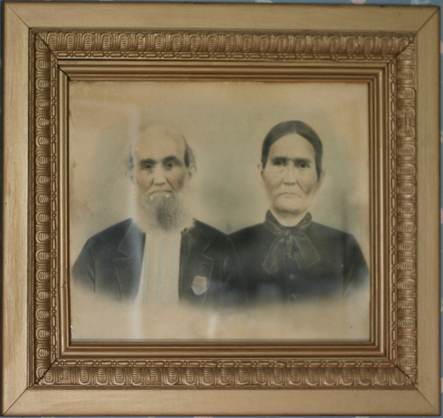 James and Margaret Allen Evans.<br /> <br /> She was part Indian and an herb doctor.