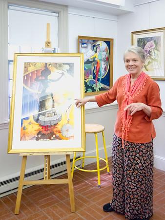 Evelyn Dunbar Duxbury Art Show - 18 May 2014