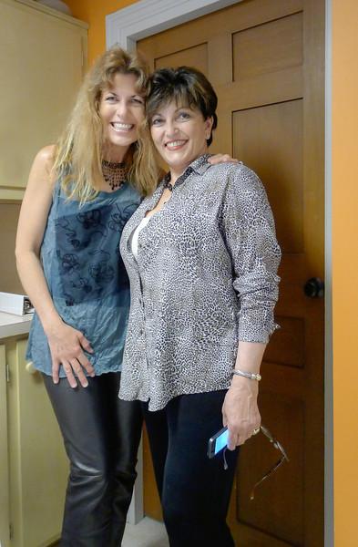 Amanda and Meredith Piscitelli, classmates at Silver Lake Regional High School ~ camera & files via kindness of Amanda