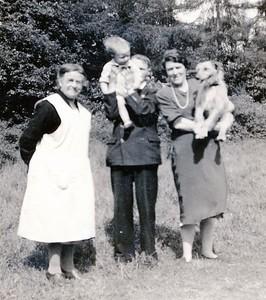 Louie Henderson in service early 40s