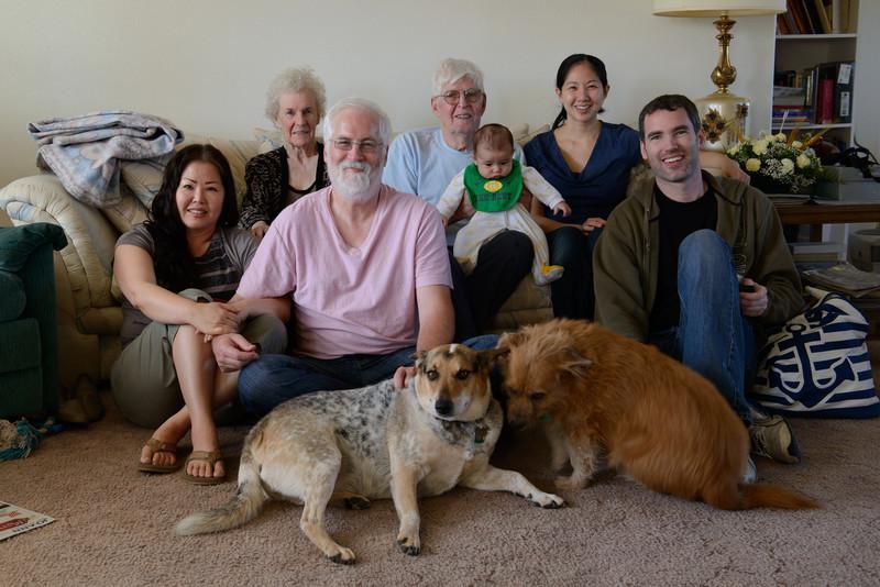 4 generations of Harris family.