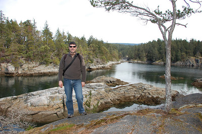 Smuggler's Cove, Sunshine Coast in British Columbia (NW of Vancouver)