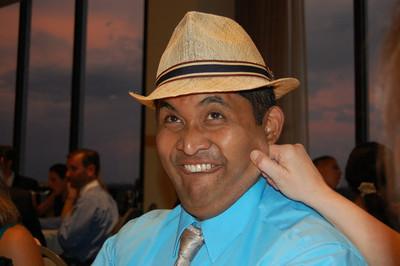 Juan w/ my hat