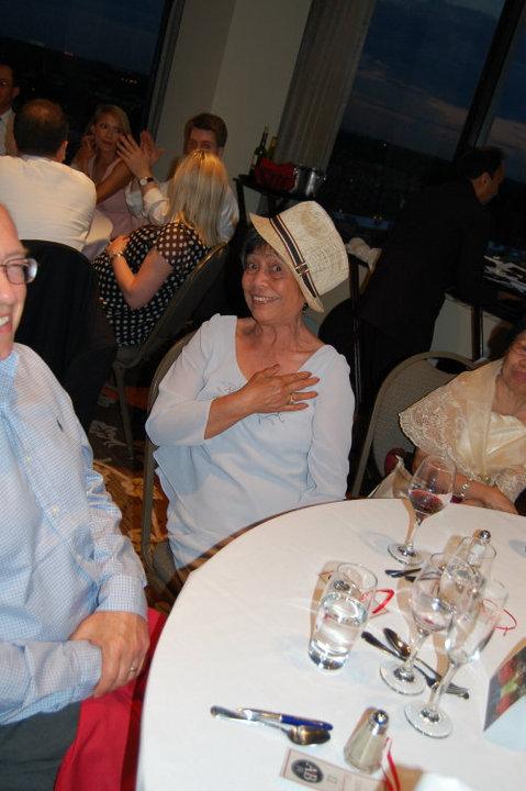 Tita Bell w/ my hat
