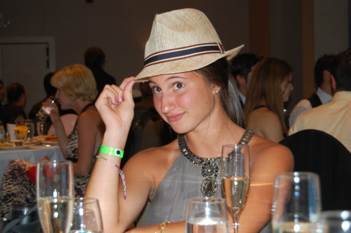 Clara w/ my hat