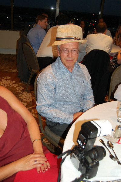 Uncle Bob w/ my hat