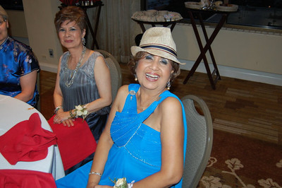 Mom w/ my hat