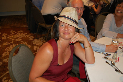 Leslie w/ my hat