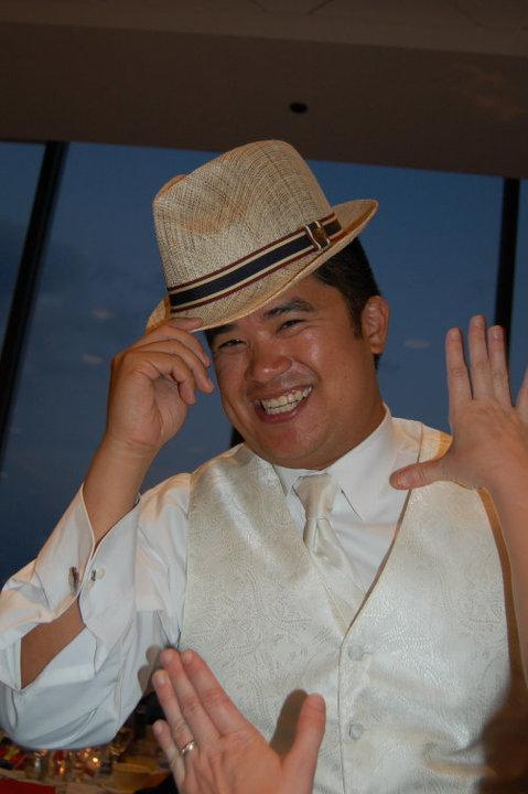 Alan w/ my hat