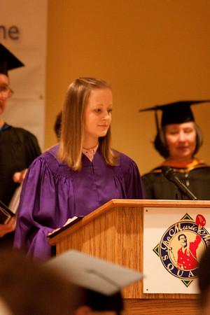 Marcie's LPN Graduation