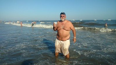 Aug. 13 2016 Jimmy Buffet on the Beach in Atlantic City....98 Degrees!