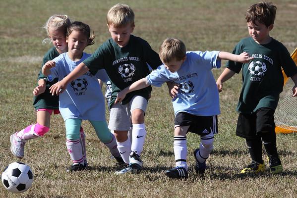 Brayden Soccer Game, Sept. 27, 2014, Annapolis , MD