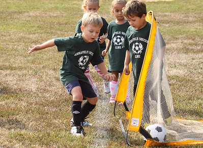 Brayden's Soccer Game, Annapolis , MD, Sept 20 2014