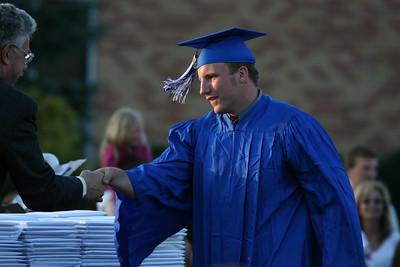 Dane's graduation from Warren Hills HS, June 15th, 2007