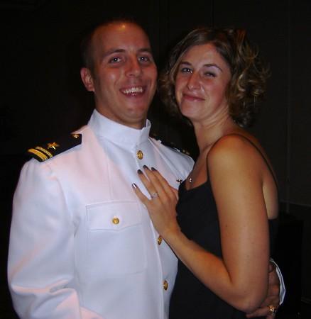 Derek and Niki at Hawkeye Ball in Norfolk, Va, Sept. 05