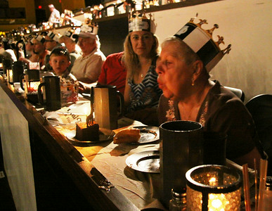 Grandmom Bruhn's 80th Birthday( July 1, 2014) at Medieval Times with the kids.