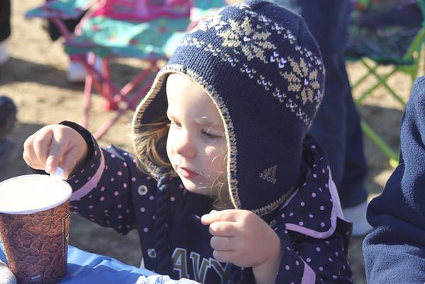 Navy vs So Georgia Tailgate with kids, Nov 15, 2014