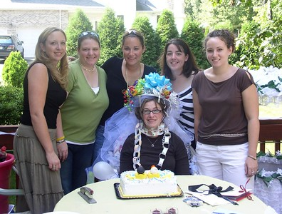 Niki's Bridal Shower, Sunday, Sept. 18th ,2005 at the Banack house.