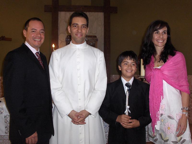 Con el Padre Luis Armando Silva