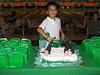En los boliches celebrando ambos cumpleaños...