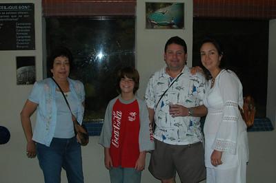 Año Nuevo 2007-08 en RD con Abuelos y Pochos