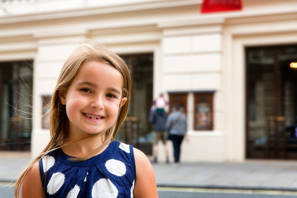 Evie in London Aug 2013