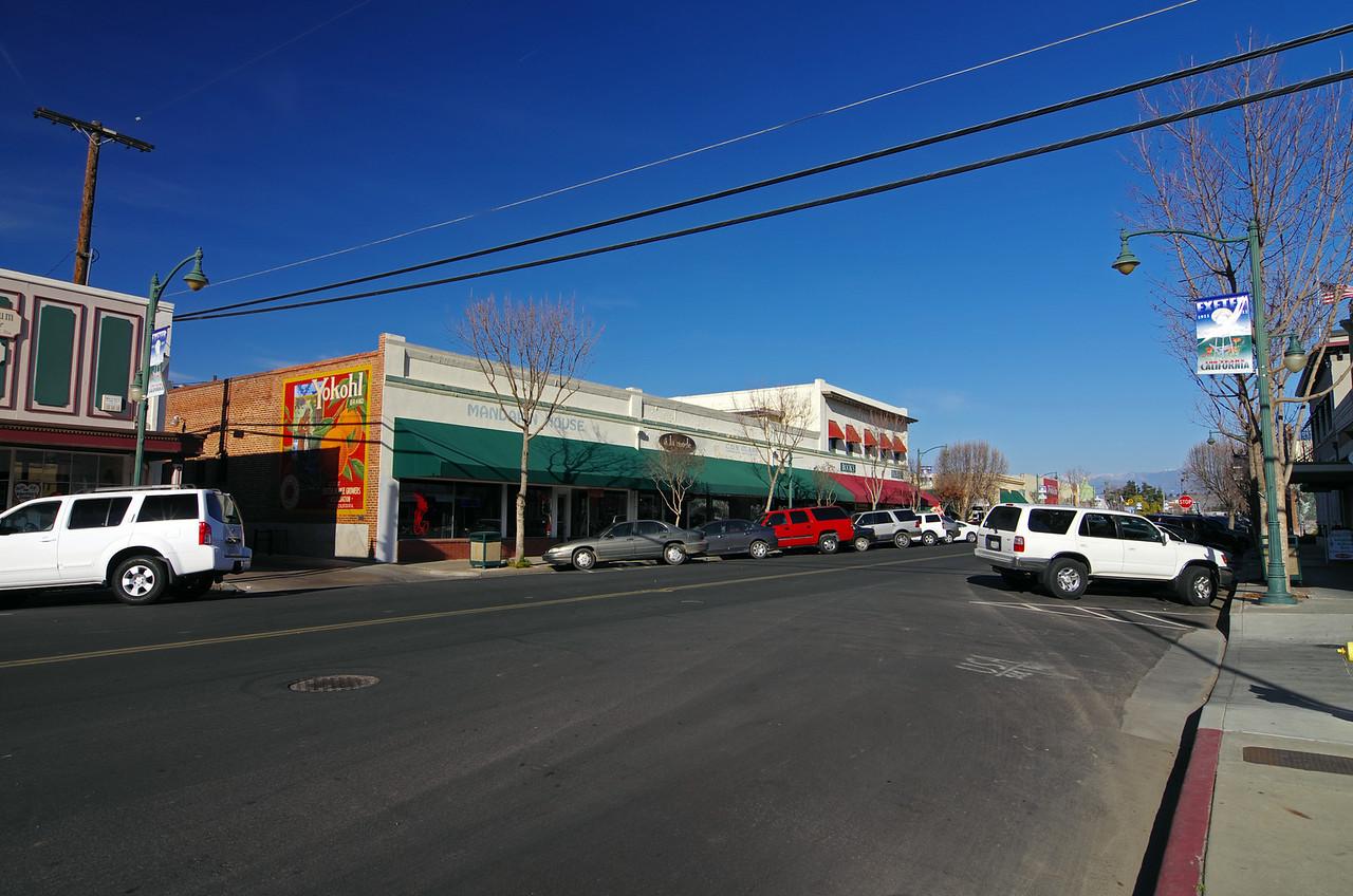 East Pine Street between E & D street.