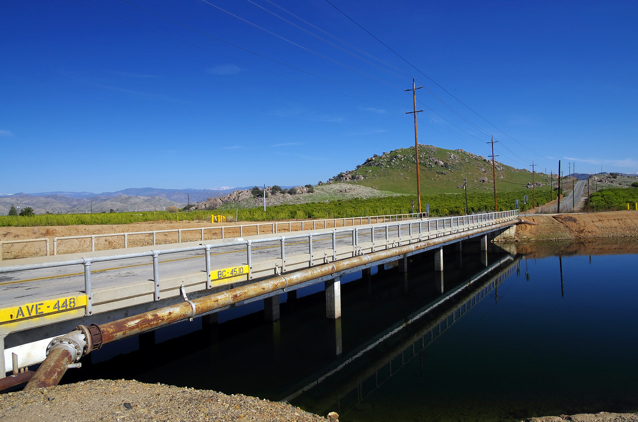 Manning Ave & the Friant Kern Canal, just west of the 63