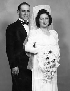 Joe& Betty Wedding day