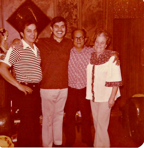 Don, Sam, Dad and Mom - December 1979.