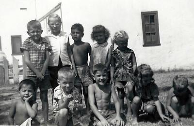 The cousins circa 1955 .