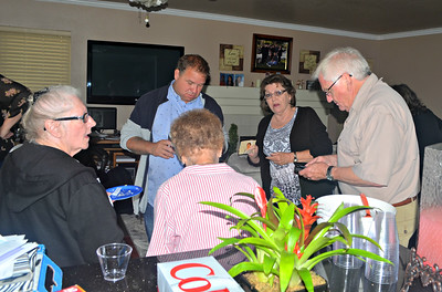 Lynn, Pete's son, Jean, Sandy and Tom.