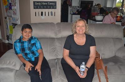 Glenda and nephew.