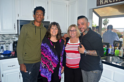 Noah, Len, Maggie and Daniel.